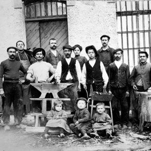 Opinel fabriek 1901